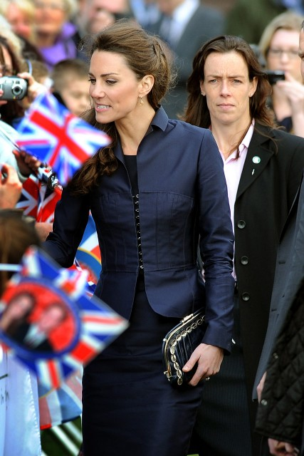 Kate Middleton and Emma Probert