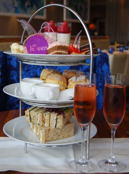 Positively Pink Afternoon Tea at the Wyndham Grand