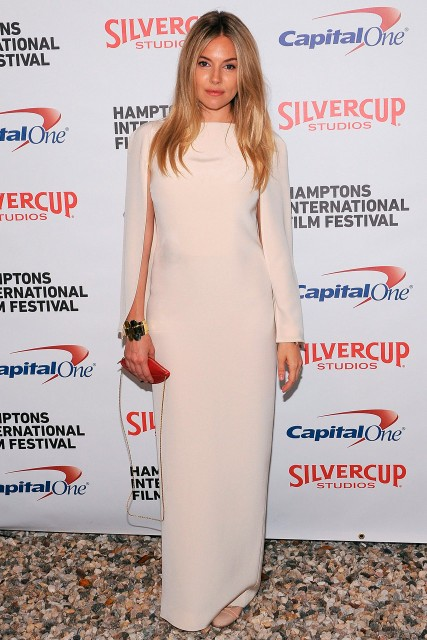 Sienna Miller at the Hamptons International Film Festival 2012 in New York