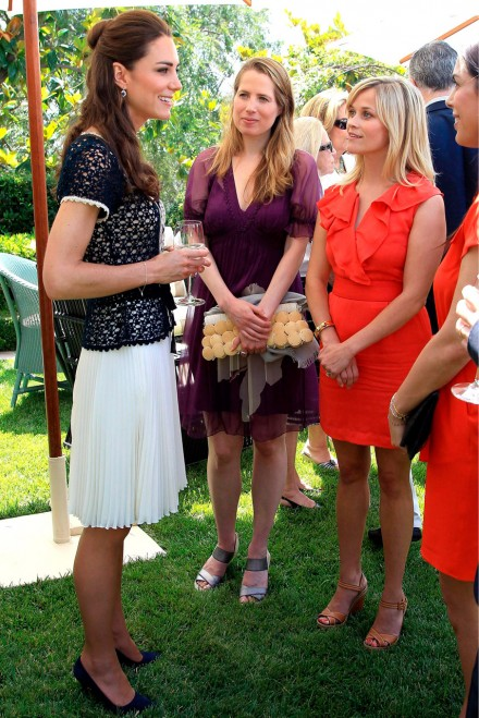 Kate Middleton and Reese Witherspoon