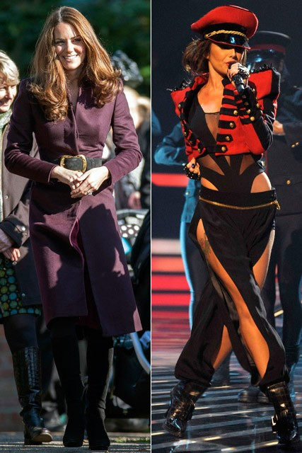 Kate Middleton & Cheryl Cole