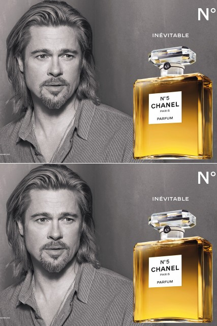 Brad Pitt's Chanel No. 5 ad debuts