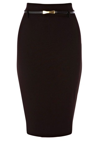 Oasis belted pencil skirt, &pound;30