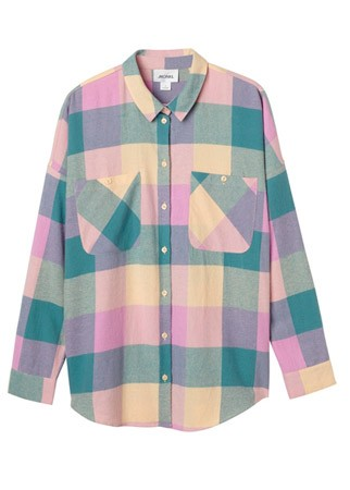 Monki plaid shirt, £19