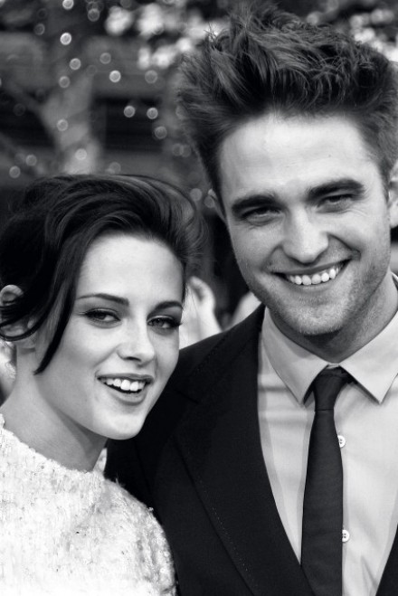 Kristen Stewart and Robert Pattinson garticle