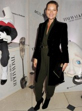 Kate Moss at the launch of the Tim Walker Story Teller exhibition at Somerset House