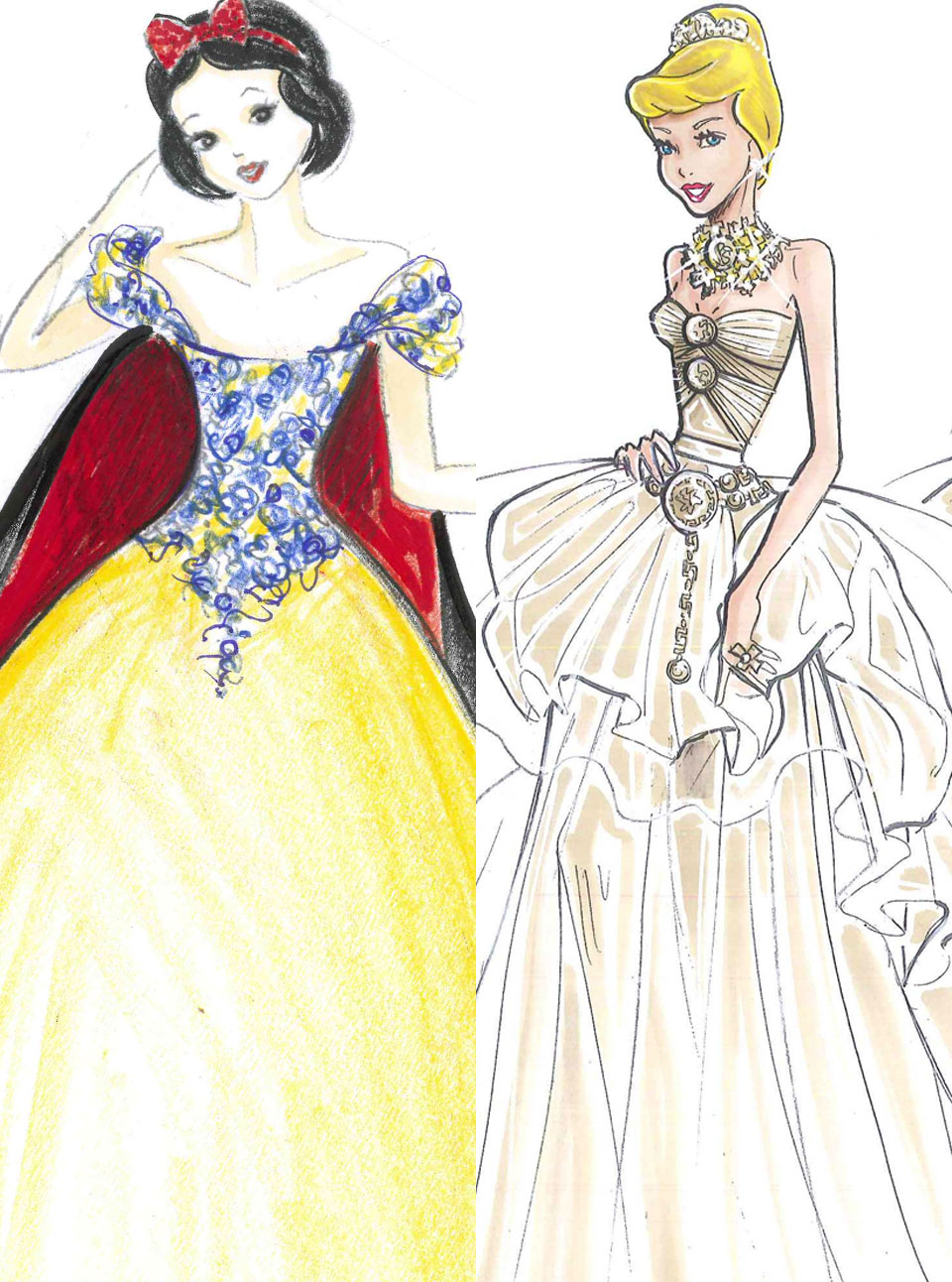 watch harrods unveils disney princess dresses from