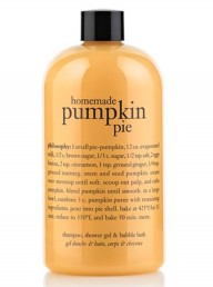 Philosophy pumpkin pie shower gel
