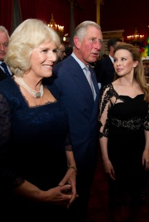 Kylie Minogue - Prince Charles and Camilla - Royal Family - Marie Claire - Marie Claire UK