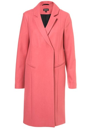 Topshop single-breasted coat, £95