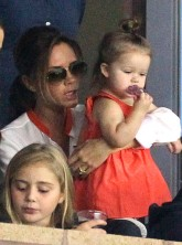 Victoria and Harper Beckham