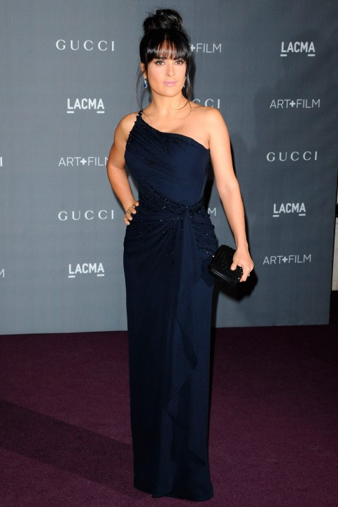 Salma Hayek at the LACMA Art and Film Gala 2012