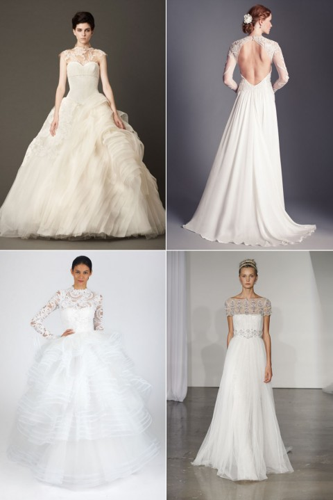 Bridal Week New York Autumn 2013 - Marie Claire - Marie Claire UK