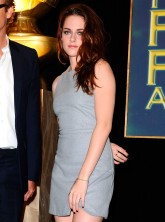 Kristen Stewart at the Cecil B DeMille Award announcement in Los Angeles