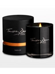 Timothy Dunn London Tiger-Eye candle