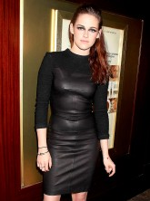 Kristen Stewart at a screening of On The Road in New York