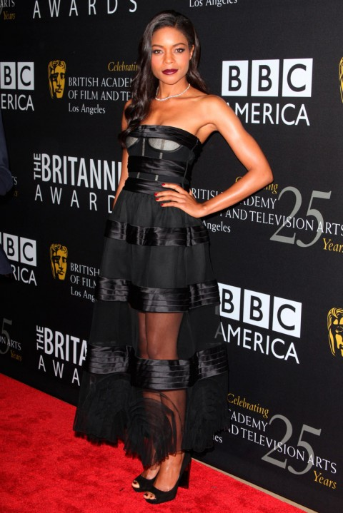 Naomie Harris at the BAFTA Britannia Awards 2012 in Los Angeles