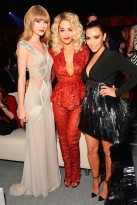 Taylor Swift, Rita Ora and Kim Kardashian
