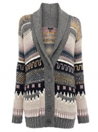 Warehouse Fairisle Cardi 