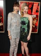 Scarlett Johansson and Jessica Biel Hitchcock
