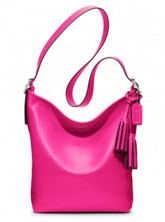 Win No. 19889 Coach Legacy Leather Duffle Handbag in Fuschia, worth £295 - marie claire competition LP