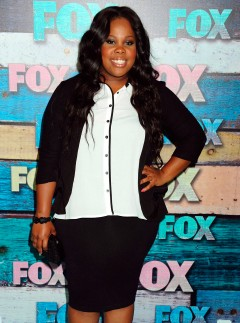 Amber Riley star of Glee