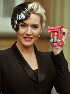 Kate Winslet - CBE ceremony - Buckingham Palace - The Queen - Celebrity Pictures - Marie Claire - Marie Claire UK