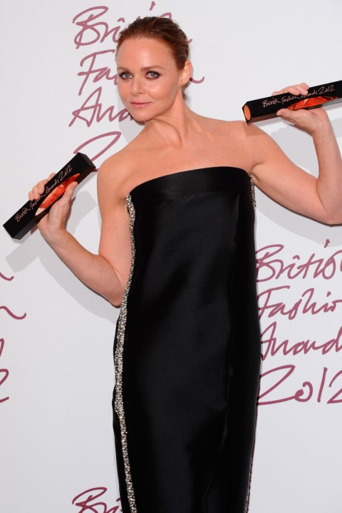 Stella McCartney at the British Fashion Awards 2012 in London