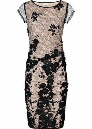 Reiss embroidered mesh dress, £195
