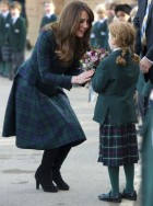 Kate Middleton old school