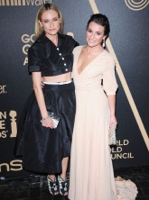 Diane Kruger - Lea Michele - Golden Globe Awards Season 2013 party - Marie Claire - Marie Claire UK