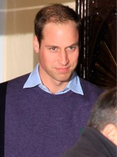 Prince William visiting Kate Middleton in hospital