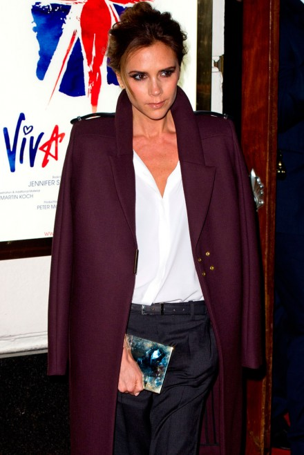 Victoria Beckham at the Spice girls musical launch