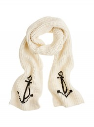 J.Crew Anchor Scarf