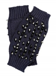 Religion Studded gloves