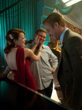 Emma Stone and Ryan Golsing in Gangster Squad