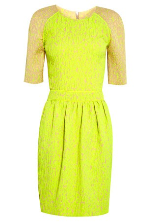 Preen jacquard dress, £743