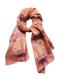 Anthropologie Kaleidoscope Profile scarf