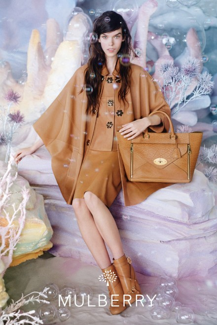 Mulberry spring/summer 2013 ad campaign