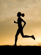 Woman running 