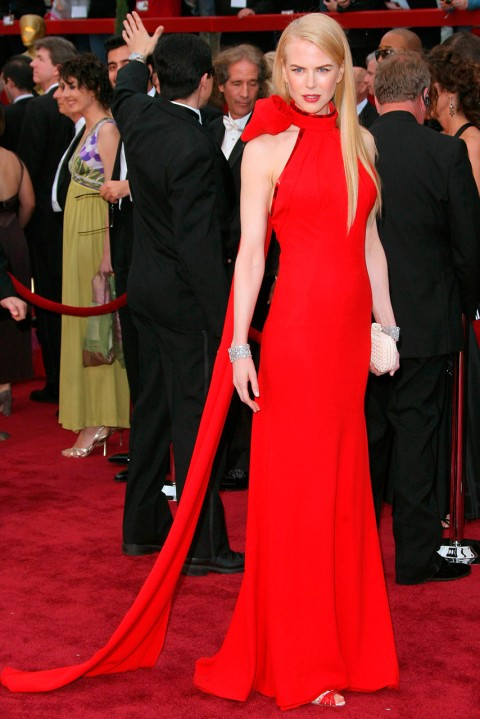 Nicole Kidman - most iconic red carpet dresses of all time