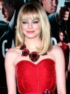 Emma Stone at Gangster Squad premiere