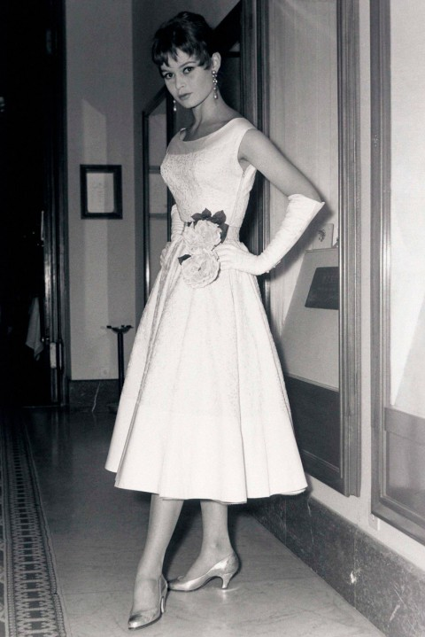 Brigitte Bardot - most iconic red carpet dresses of all time