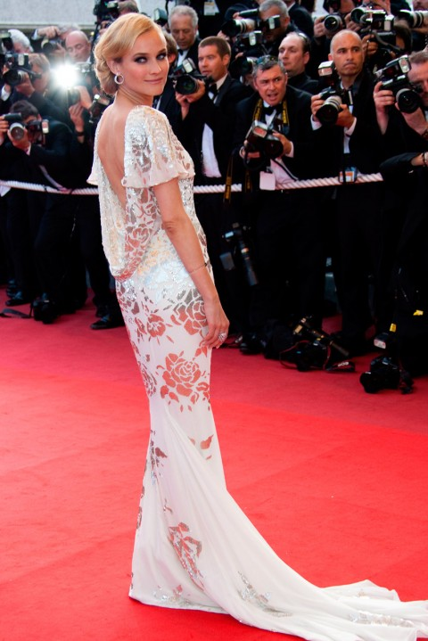 Diane Kruger - most iconic red carpet dresses of all time