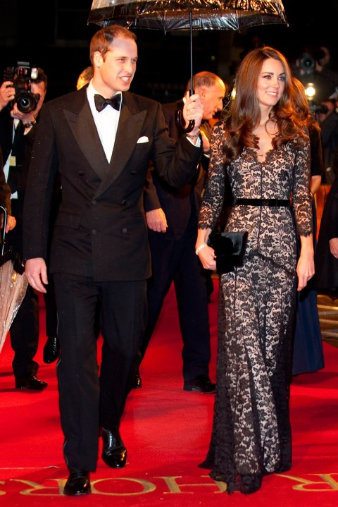 Kate Middleton - most iconic red carpet dresses of all time