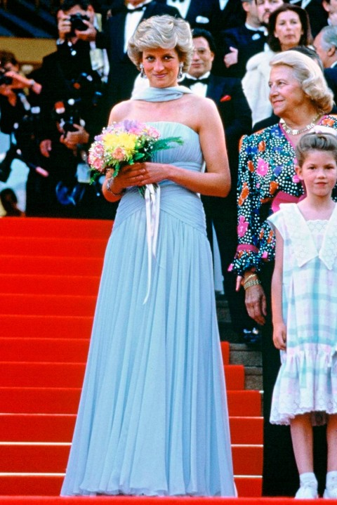 Princess Diana - most iconic red carpet dresses of all time