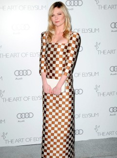 Kirsten Dunst at the Art of Elysium Heaven Gala 2013 in Los Angeles