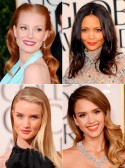 Golden Globes 2013 Beauty and Hair