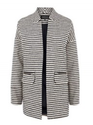 Warehouse stripe bike coat