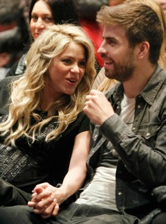 Shakira and Gerard Pique